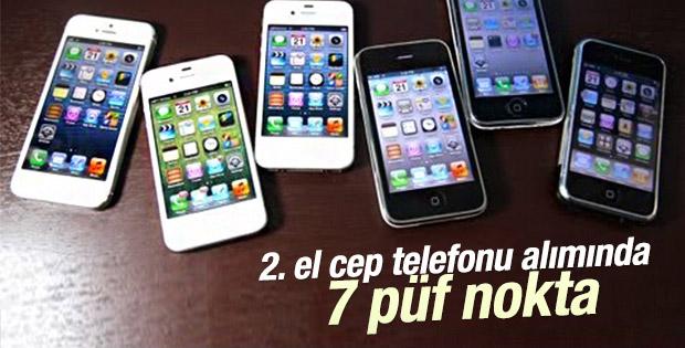 İkinci el cep telefonu alırken dikkat edilmesi gerekenler