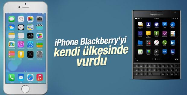 Kanada'da BlackBerry-iPhone savaşı