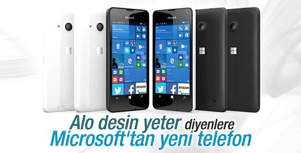 Microsoft Lumia 550 satışta