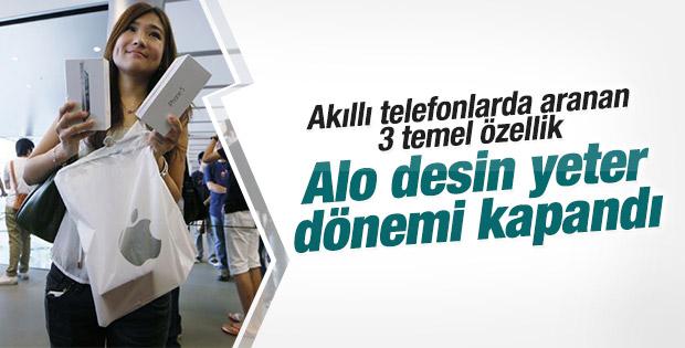 Türklerin akıllı telefonlarda aradığı özellikler