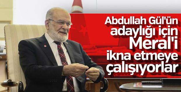 Saadet Partisi Abdullah Gül'ün adaylığını koordine ediyor