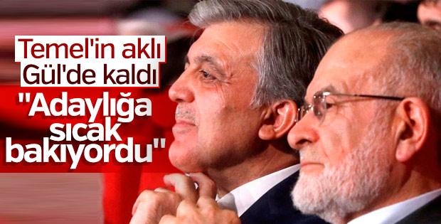 Karamollaoğlu, Abdullah Gül'e teklif sürecini anlattı