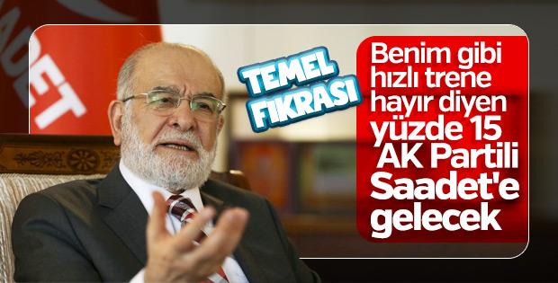 Karamollaoğlu'nun AK Partili seçmen hayali