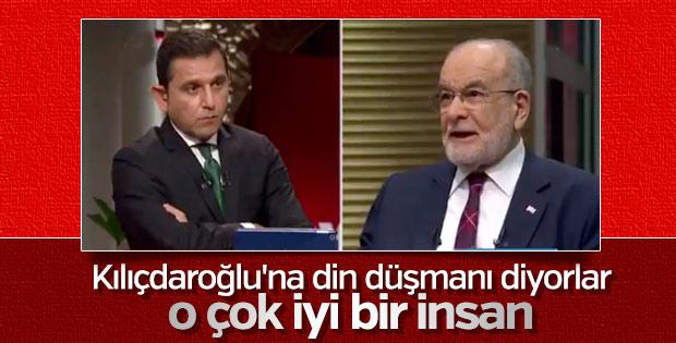 Temel Karamollaoğlu'ndan Kılıçdaroğlu'na övgüler