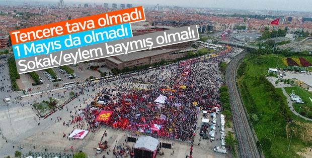 Bakırköy'deki 1 Mayıs mitingine katılım düşük oldu