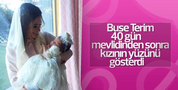 Buse Terim kızının yüzünü ilk kez gösterdi