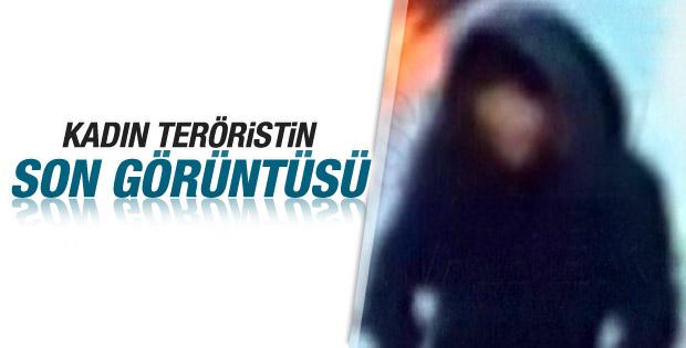 Sultanahmet'te polise saldıran canlı bombanın görüntüsü