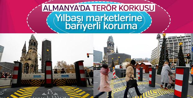 Almanya'da terör eylemlerine karşı önlem