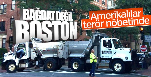 Boston'da terör saldırısına karşı kamyon önlemi
