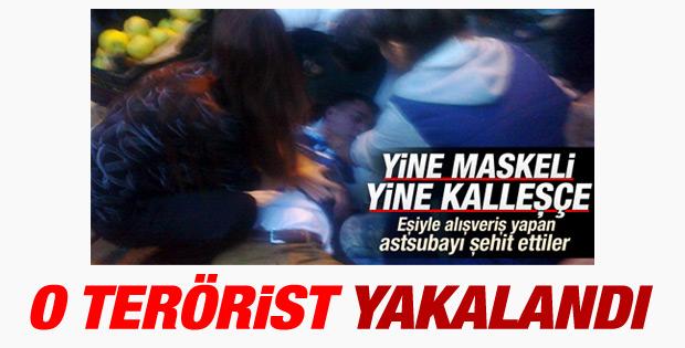 Diyarbakır'da astsubayı şehit eden terörist yakalandı