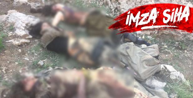 Cudi'de öldürülen teröristlerin son hali