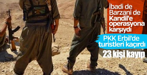 Kandil'de PKK'lılar turistlerin telefonlarına el koyuyor