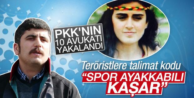Canlı bombanın HDP'li avukatı yakalandı