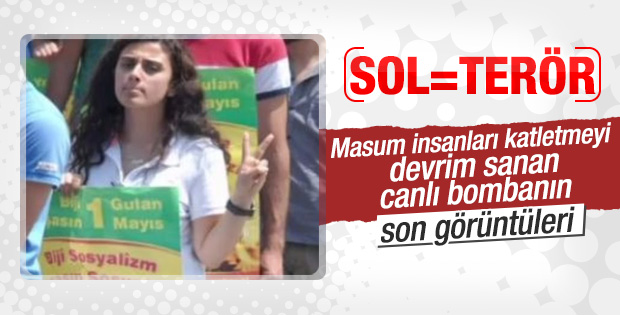 Ankara'yı kana bulayan teröristin 2013'teki görüntüleri