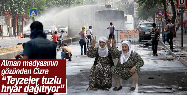 Halkın teröristlere yardımı: Tuzlanmış hıyar