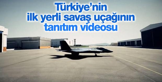 TAİ TF-X milli savaş uçağının tanıtım videosu
