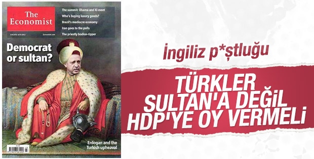 İngiliz sandıkta adres gösterdi: HDP'ye verin
