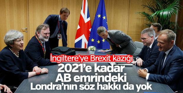 AB'den İngiltere'ye Brexit sürecinde çifte standart