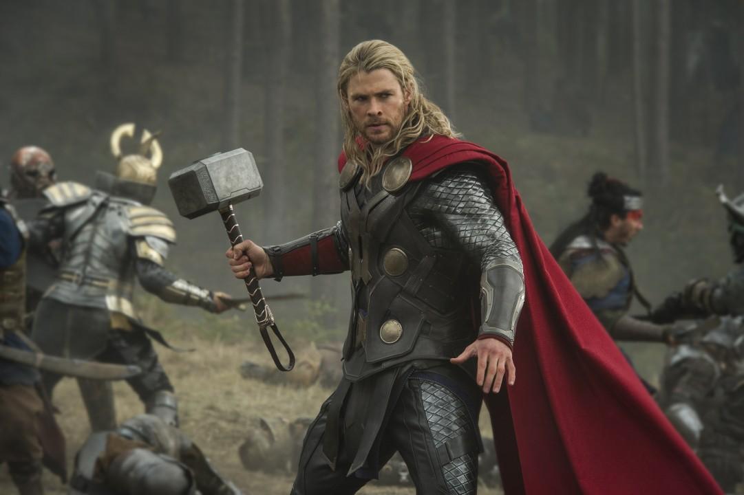 Thor: Karanlık Dünya filminin kamera arkası görüntüleri