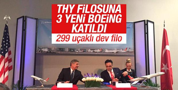 THY, Boeing ile stratejik iş birliği anlaşmasına imza attı