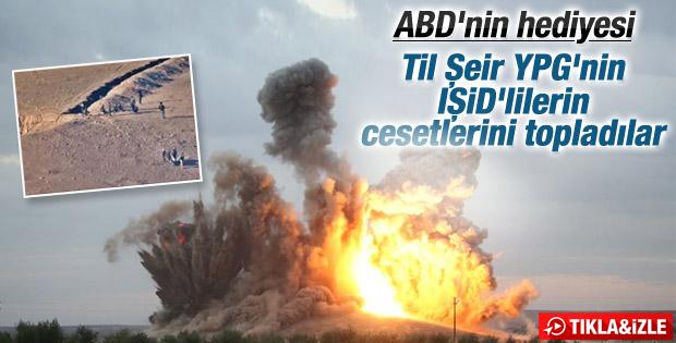 ABD bombaladı Til Şeir Tepesi YPG'nin oldu