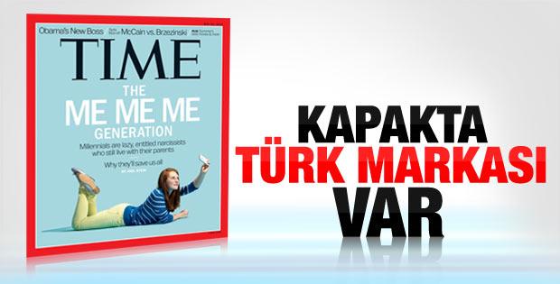 Time dergisinin kapağındaki Türk markası