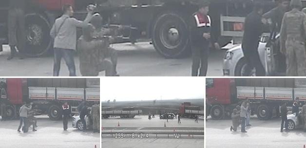 Başbakan'ın ihanet dediği TIR aramasının fotoğrafları