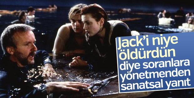James Cameron'dan Titanic-Jack polemiğine yanıt