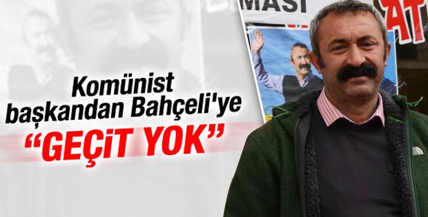 TKP'li Başkan Maçoğlu'ndan  Bahçeli'ye tepki