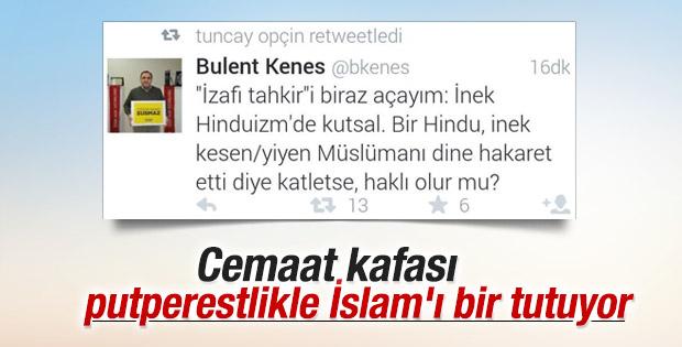Today's Zaman'ın yönetmeninden skandal tweet