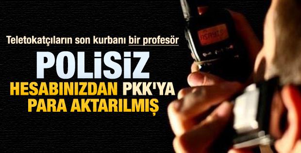 Teletokatçıların son kurbanı İzmir'de bir profesör