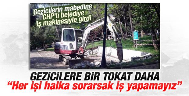 Murat Hazinedar'dan Abbasağa Parkı çıkışı