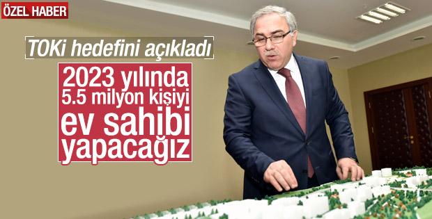 Ergün Turan TOKİ'nin çalışmalarını anlattı