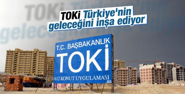 TOKİ Türkiye'nin geleceğini inşa ediyor