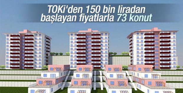 TOKİ Eskişehir'de 73 konutu satışa sunuyor