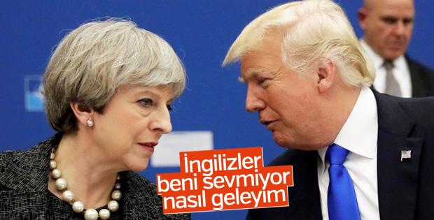 Trump Londra ziyaretini iptal etti