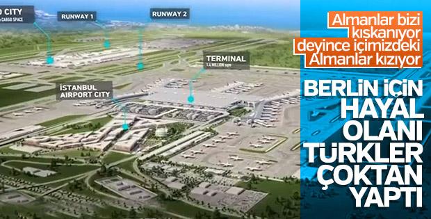 Almanya 3. Havalimanı'nı yakın takibe aldı