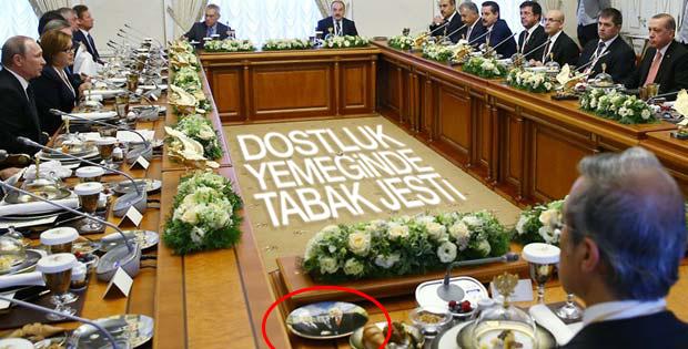 Türk ve Rus heyetleri çalışma yemeğinde buluştu