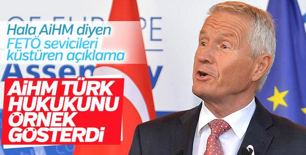 Avrupa Konseyi'nden FETÖ, Türkiye ve AİHM açıklaması