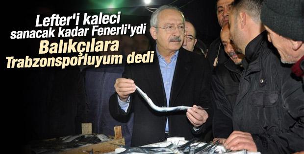 Kılıçdaroğlu Trabzonlu balıkçılarla buluştu
