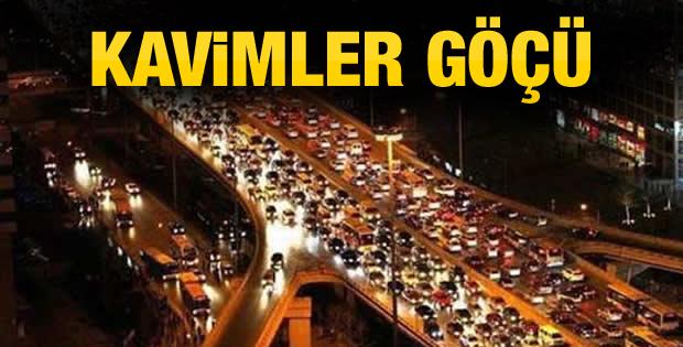 İstanbul'da trafik felç