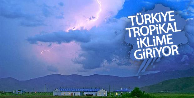 Meteoroloji uzmanı: Türkiye tropikal iklime giriyor