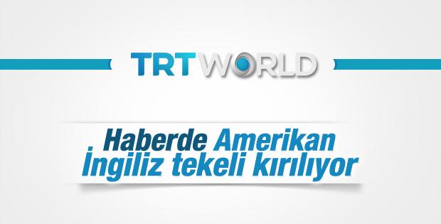 TRT WORLD yayın hayatında