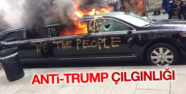 Washington'daki Trump karşıtı gösterilerde şiddet artıyor