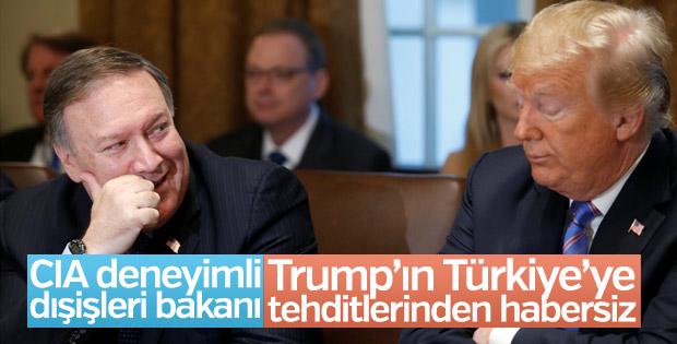 ABD Dışişleri Bakanı Türkiye geriliminden habersiz
