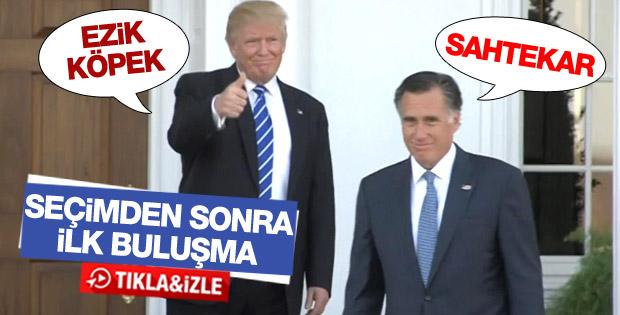 Trump, eski başkan adayı Romney ile görüştü