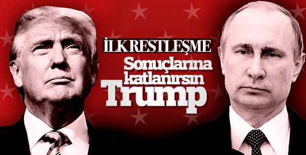 Rusya'dan Trump'a yanıt