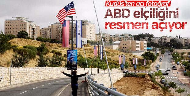 ABD'nin Kudüs elçiliği yarın açılıyor