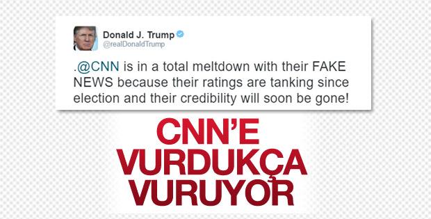 Trump'tan CNN'e bir tepki daha