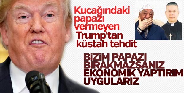 ABD Başkanı Trump, Brunson kararını beğenmedi